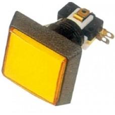 Кнопка PB-06 квадратная с подсветкой