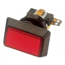 Кнопка PB-07 прямоугольная с подсветкой